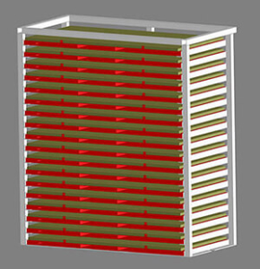 Lean Manufacturing Sheet Metal Storage