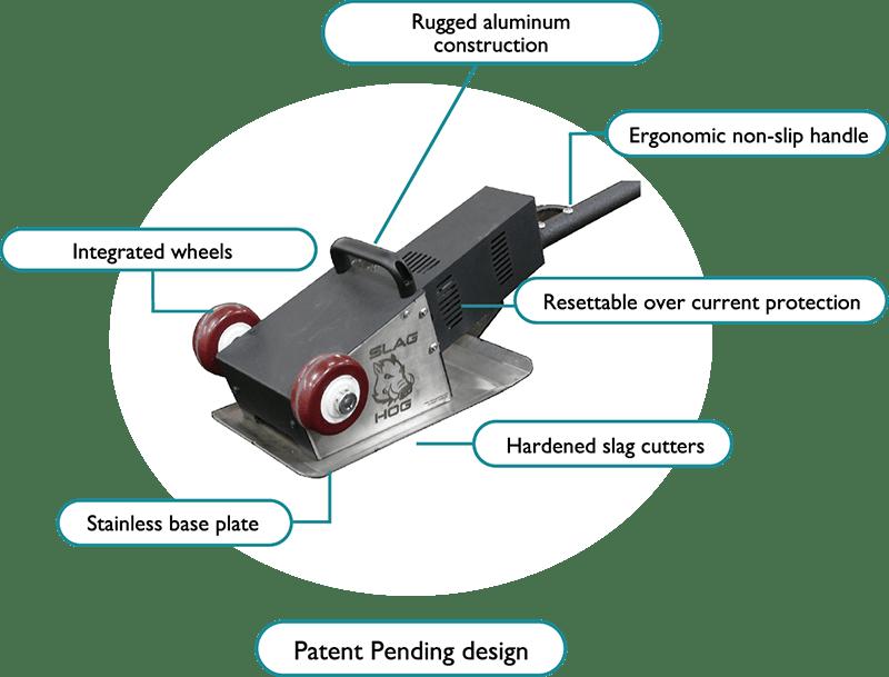 slathog-slat cleaner -diagram