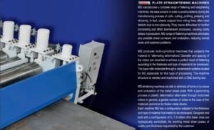 plate straightening machines